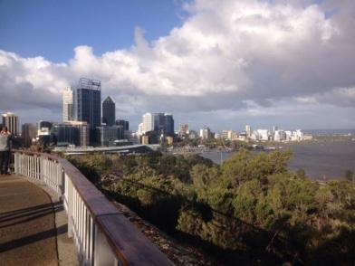 uitzicht vanuit Kings Park