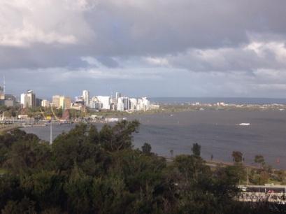 Perth vanuit Kings Park