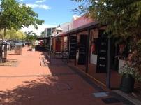 Winkelstraat in Broome