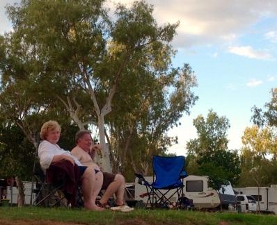 Relaxen voor de camper