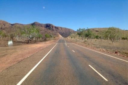 Onderweg naar Kununurra