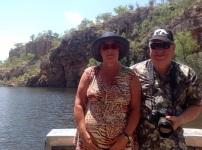 Boottocht door de Kathering Gorge