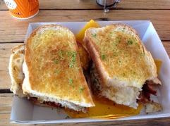Sandwich bij Daly Waters Pub