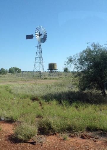 Windmolen om water te pompen
