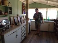 Keuken in het tenthuis