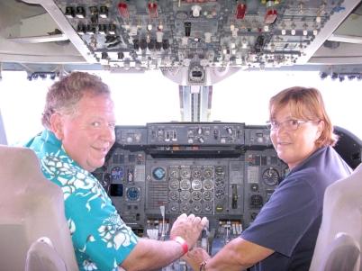 We nemen het vliegtuig!