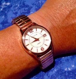 Mijn nieuwe horloge