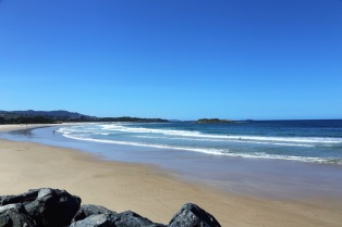 Strand van Coffs Harbour