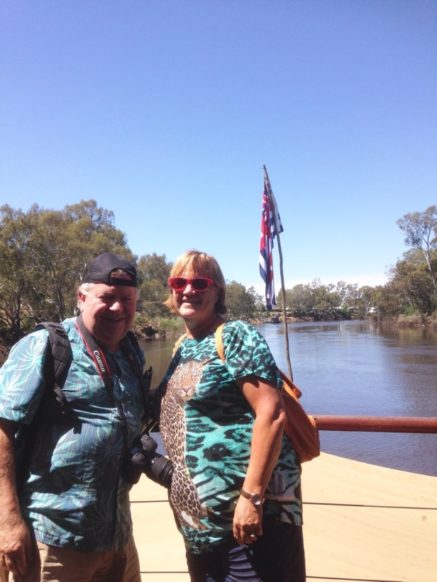 Varen over de Murray River