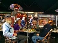 Samen eten in de straatjes van Melboourne