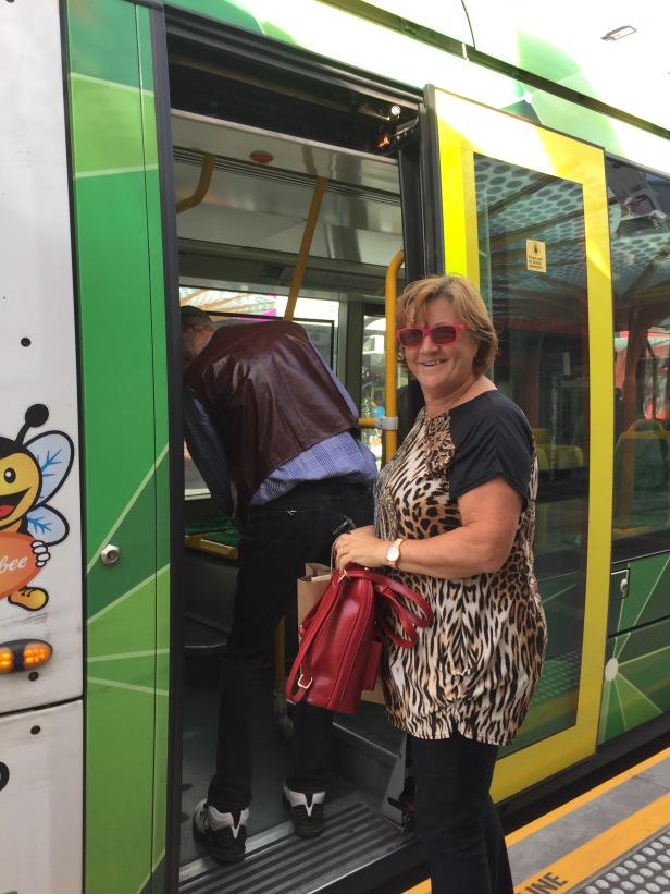 Terug met de tram