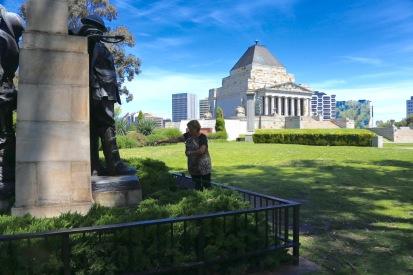 Shrine in Melbourne