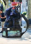 Barcelona straatartiest