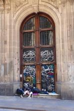 Barcelona zwerver