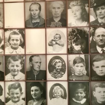 Portretten van slachtoffers