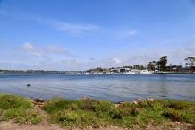 Paynesville vanaf Rainman Island