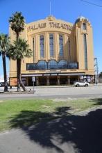 Het Palais Theatre, nog steeds in gebruik