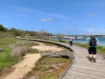 Wandeling op Rainman Island