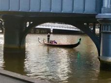 Gondel op de Yarra River