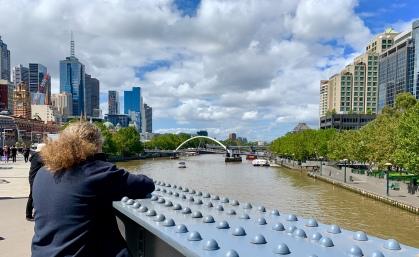 Frans aan de Yarra River