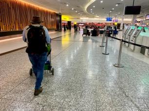 Frans op Melbourne Tullamarine Airport