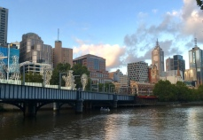 Uitzicht op de City vanaf Southbank