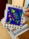 Post! Een kaart van kleindochter Lisa!