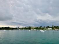 Uitzicht vanaf de veerboot, point Ne