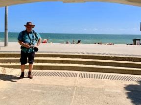 Frans bij St. Kilda Beach