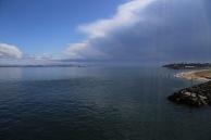 De doorgang naar de Bass Strait bij Queenscliff