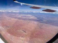 Centrum van Australia, zover je kunt kijken helemaal kaal