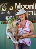 Margareth met Koala Vincent