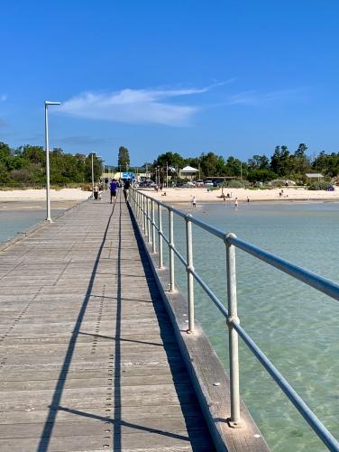 De pier van Rosebud